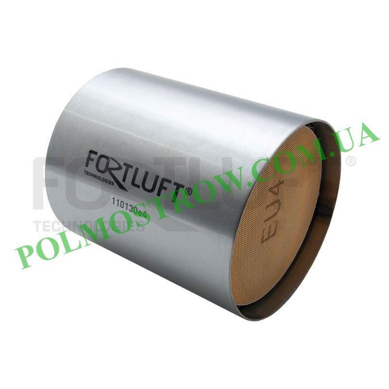 Ремонтный блок катализатора 110130E4 Fortluft -  Код: 110130E4 Материал корпуса: Нержавеющая сталь Материал блока: Керамика Длин