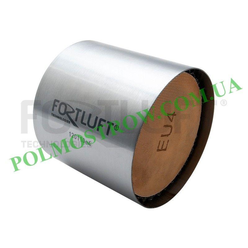 Ремонтный блок катализатора 120110E4 Fortluft -  Код: 120110E4 Материал корпуса: Нержавеющая сталь Материал блока: Керамика Длин