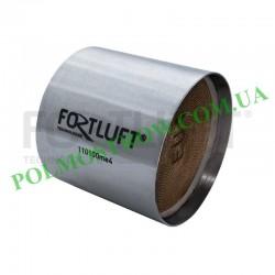 Ремонтный блок катализатора 110100ME4 Fortluft -  Код: 110100ME4 Материал корпуса: Нержавеющая сталь Материал блока: Металл Длин