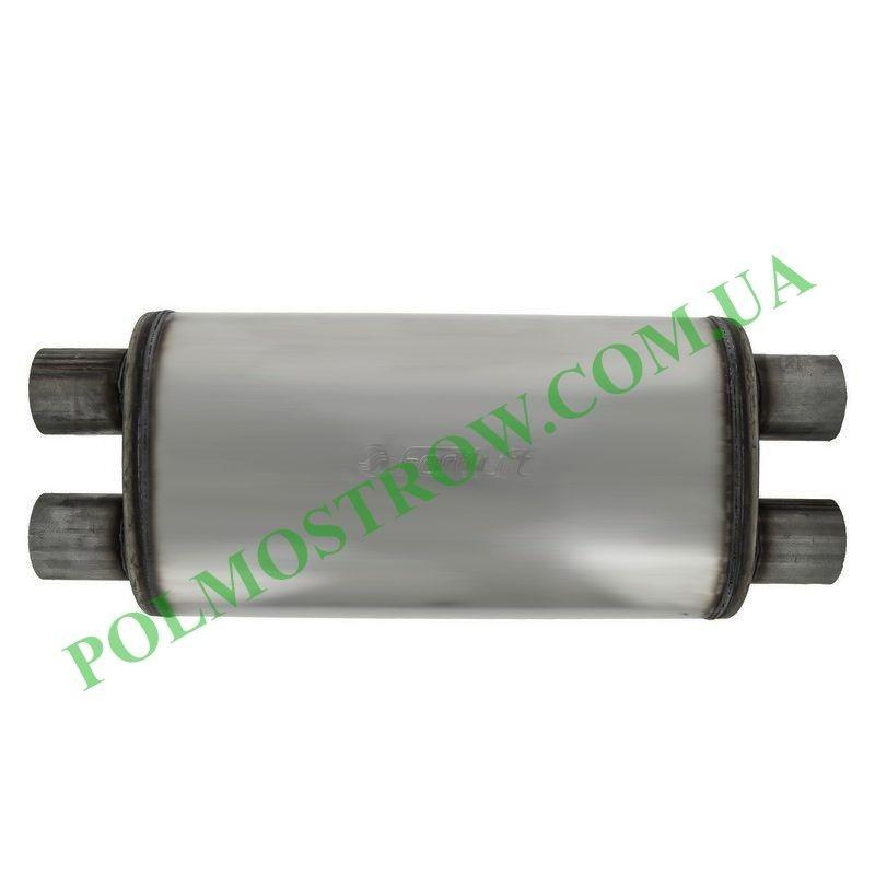 Прямоточный глушитель PM1-57x57NP  - 1