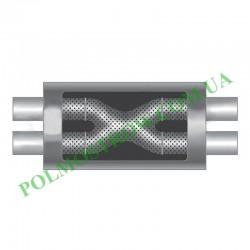 Прямоточный глушитель PM1-57x57NP  - 4