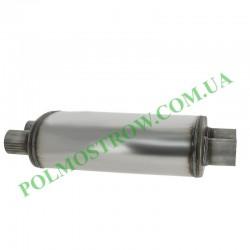 Прямоточный глушитель PM1-63x63NP  - 2